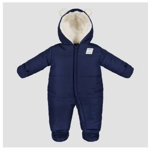 Just One You by Carter's Navy Snowsuit